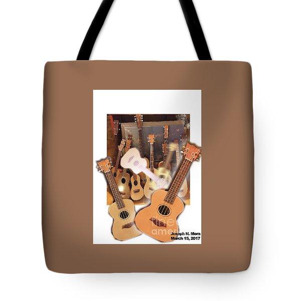 Bruce's Ukuleles Tote Bag