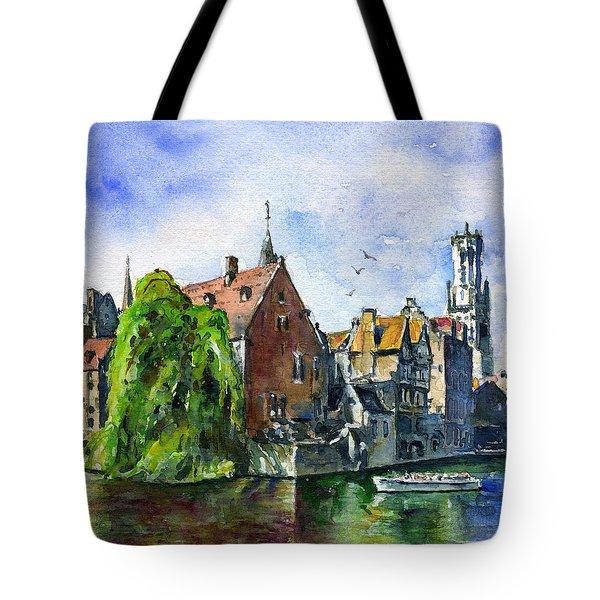 Bruges Belgium Tote Bag
