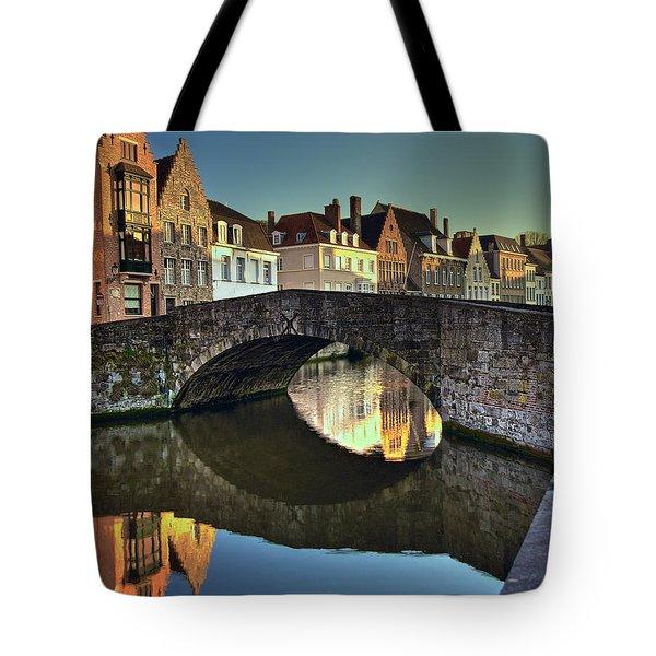 Bruges Twighlight Tote Bag
