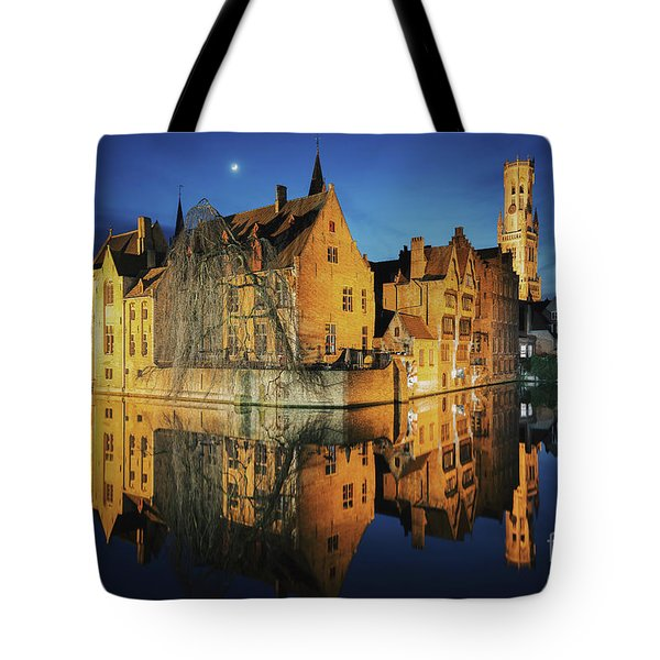 Brugge Tote Bag by JR Photography