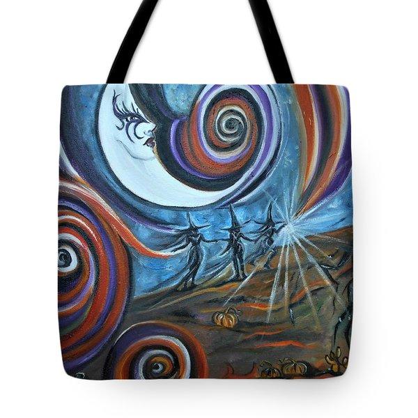Bruja Luna Tote Bag
