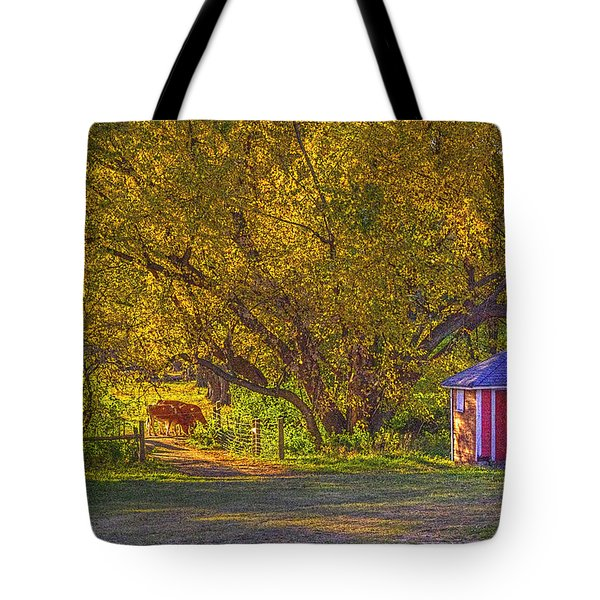 Brunner Organic Family Farm Tote Bag
