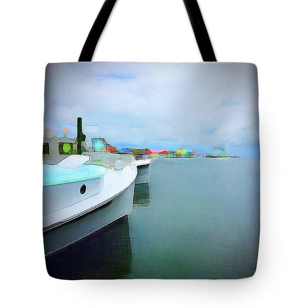 Brunswick St. View Tote Bag