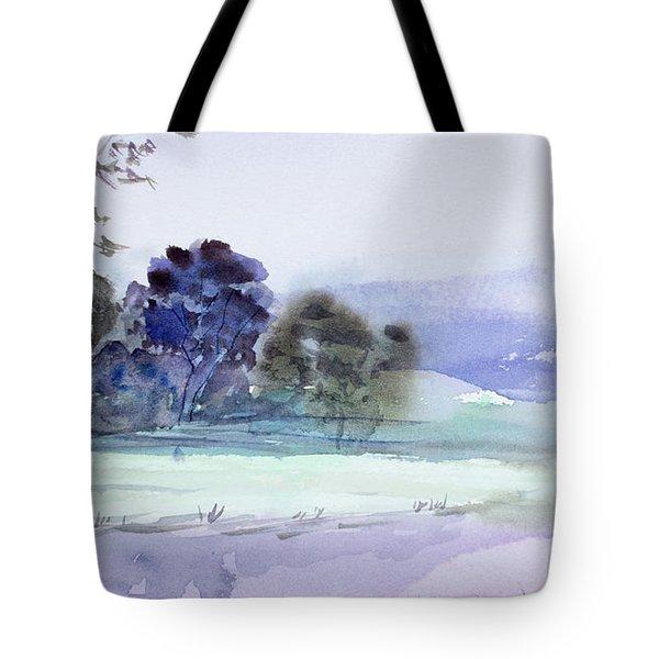 Bruny Island At Dusk Tote Bag