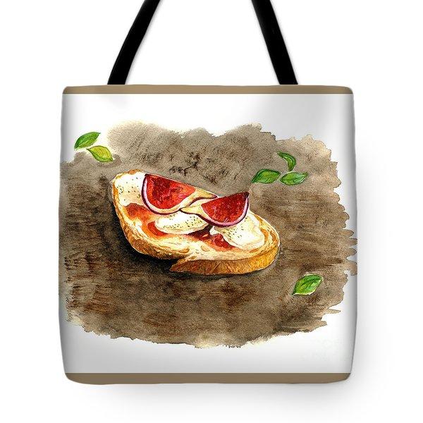 Bruschette Con Fichi Tote Bag