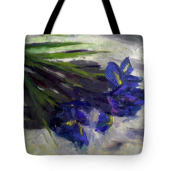 Brush Flowers #1 Tote Bag by Brian Kardell