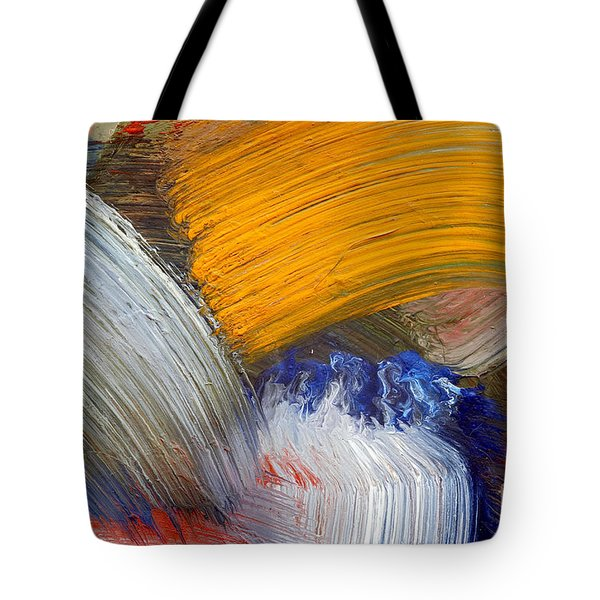 Brush Strokes Tote Bag by Michal Boubin