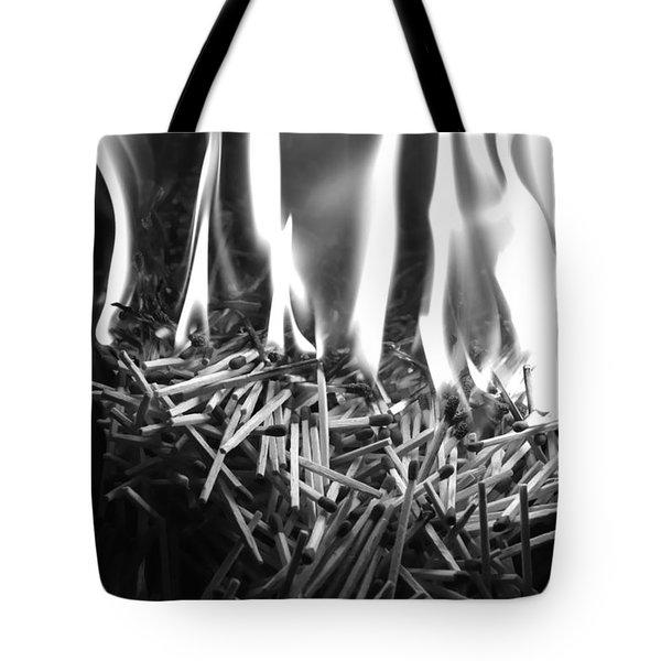 Brushfire 10 Tote Bag
