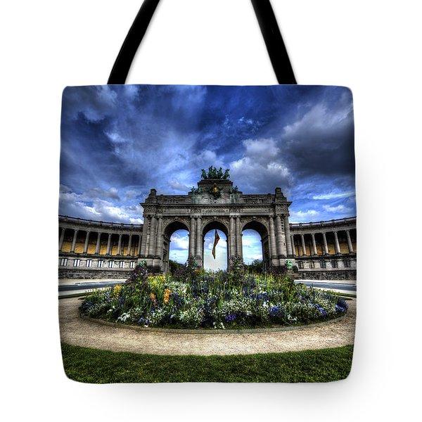 Brussels Parc Du Cinquantenaire Tote Bag