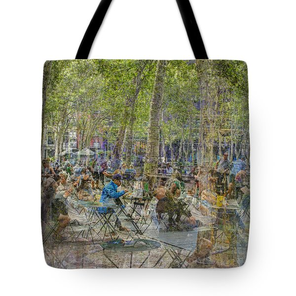 Bryant Park Collage 2 Tote Bag