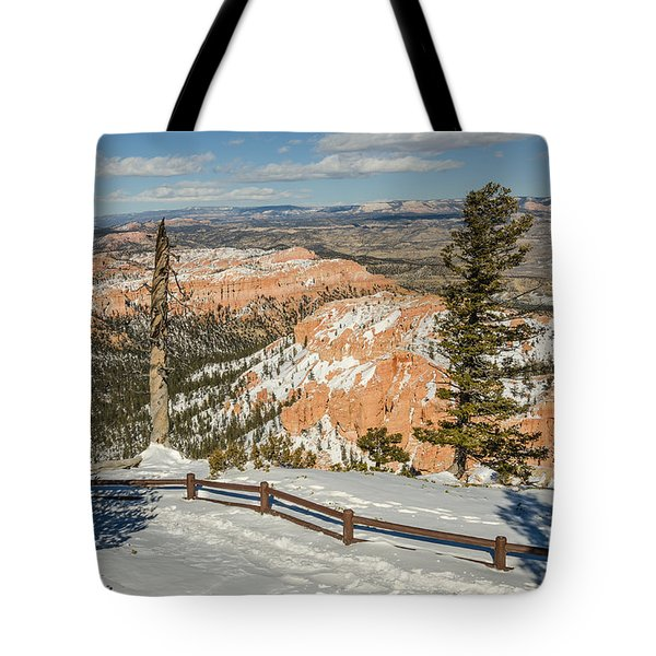 Bryce Amphitheater From Bryce Point Tote Bag