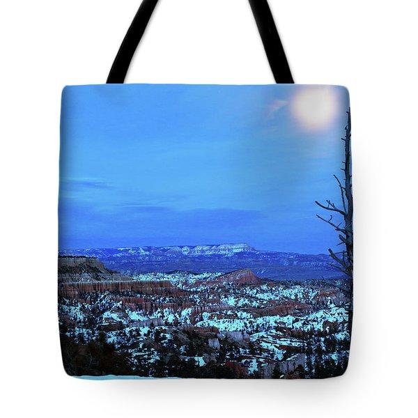 Bryce Blue Tote Bag