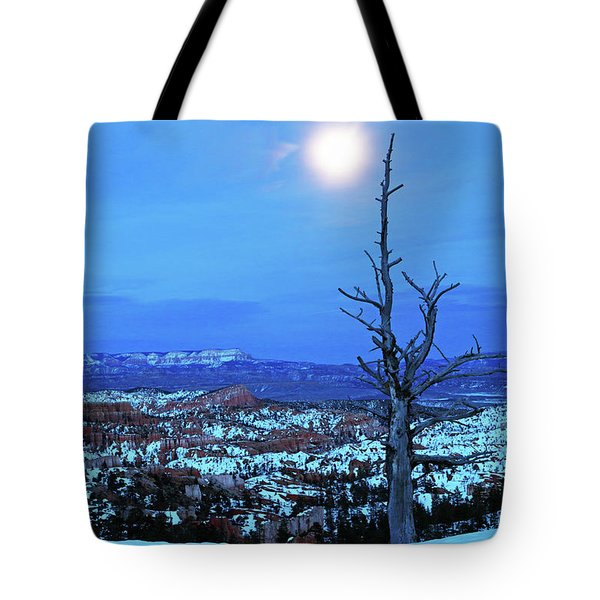 Bryce Blue Tote Bag