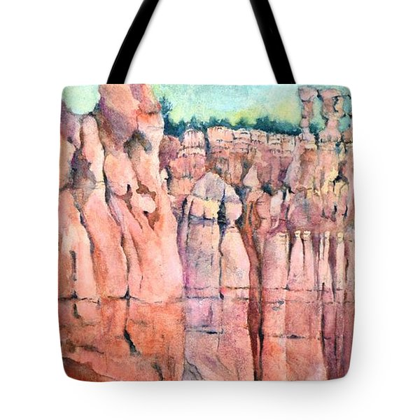 Bryce Canyon #1  Tote Bag by Betty M M Wong