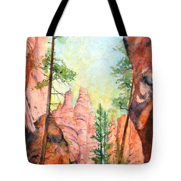 Bryce Canyon #2 Tote Bag by Betty M M Wong