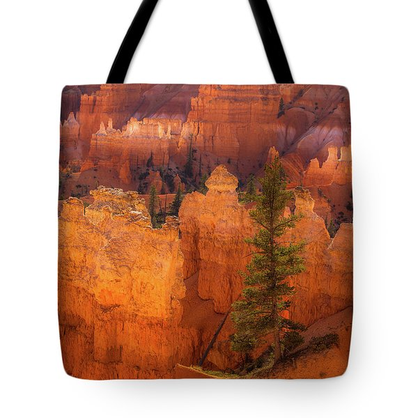 Bryce Canyon And Tree Tote Bag