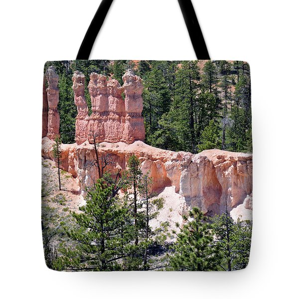 Tote Bag featuring the photograph Bryce Canyon Backcountry by Bruce Gourley