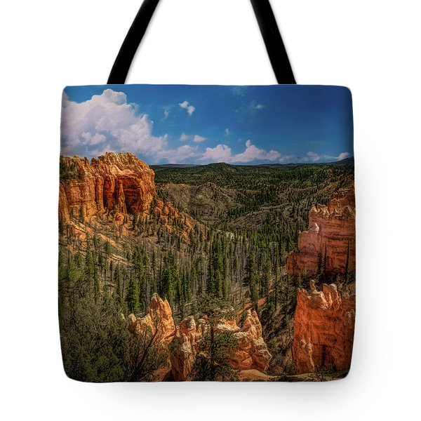 Bryce Canyon From The Top Tote Bag