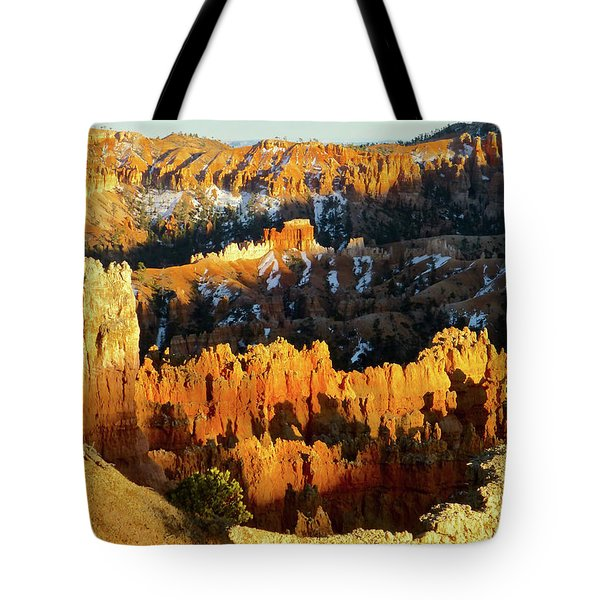 Bryce Canyon Hoodoos Evening Tote Bag