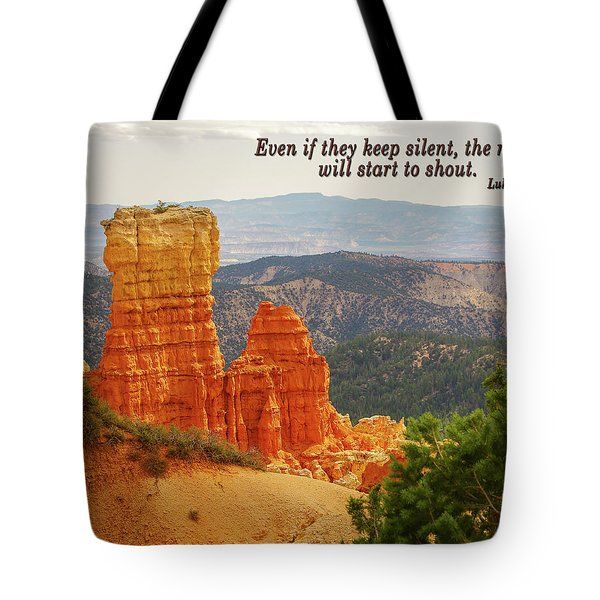 Tote Bag featuring the photograph Bryce Canyon by Jim Mathis