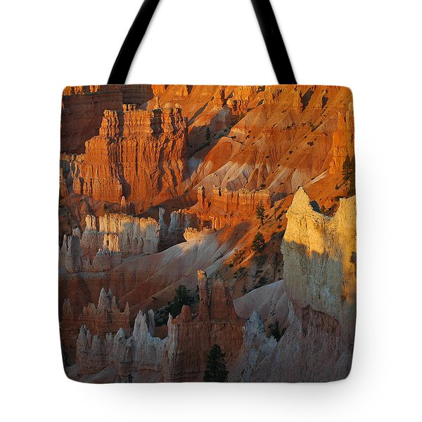 Bryce Canyon Morning Tote Bag by Bruce Gourley
