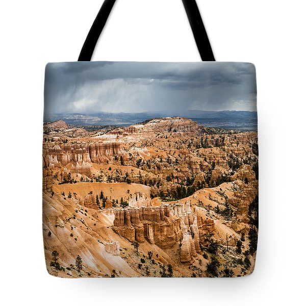 Tote Bag featuring the photograph Bryce Canyon Storm by Jason Roberts