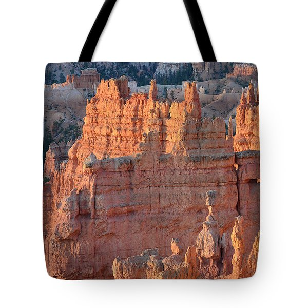 Tote Bag featuring the photograph Bryce Canyon Sunrise 2016a by Bruce Gourley