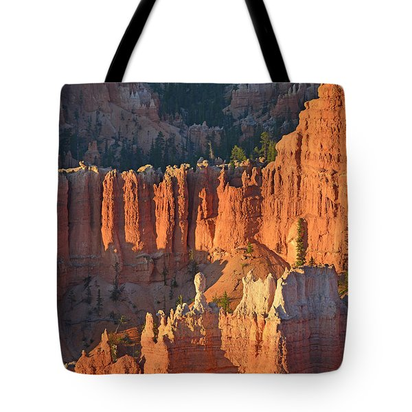 Tote Bag featuring the photograph Bryce Canyon Sunrise 2016c by Bruce Gourley