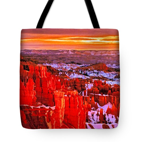 Bryce Dawn Tote Bag