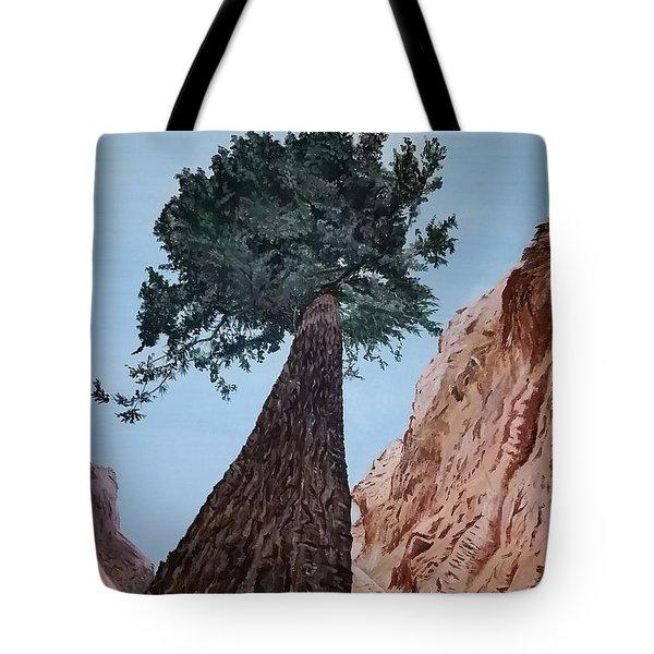Bryce Pine Tote Bag