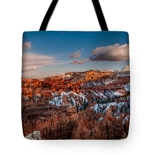 Bryce Sunset Tote Bag