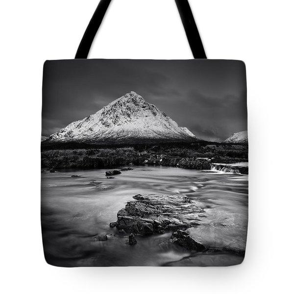 Buachaille Etive Mor Mono Tote Bag