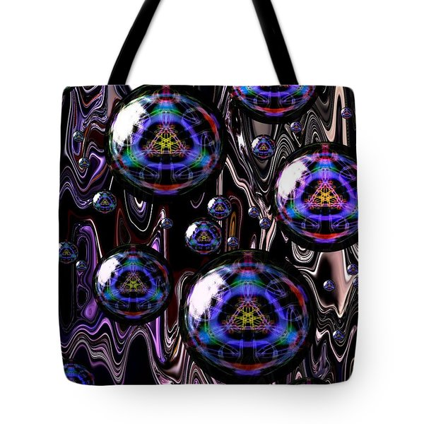 Bubble Abstract 1a Tote Bag
