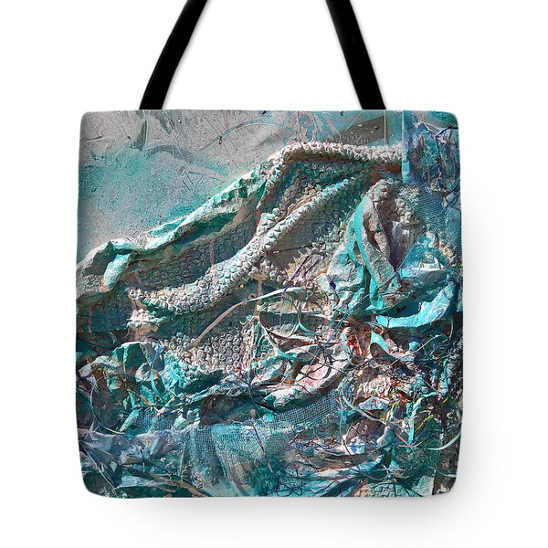 Bubble Abstract #81817 Tote Bag