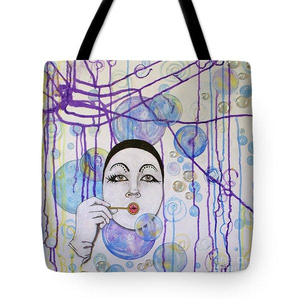 Bubble Dreams Tote Bag by Jane Chesnut