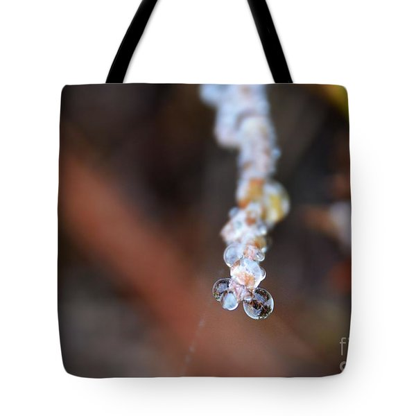 Bubble Eyed Water Drops- Loganville Georgia Tote Bag