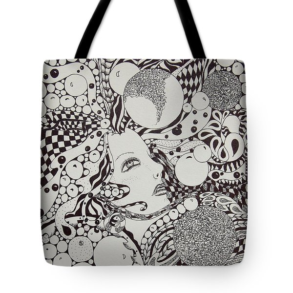 Bubble Flight Tote Bag