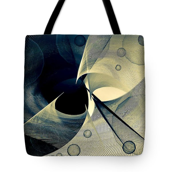 Bubble Hurricane Tote Bag