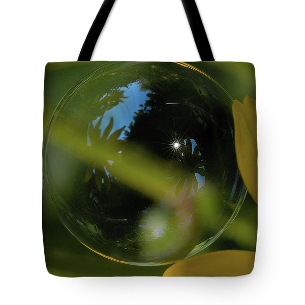 Bubble In The Garden Tote Bag