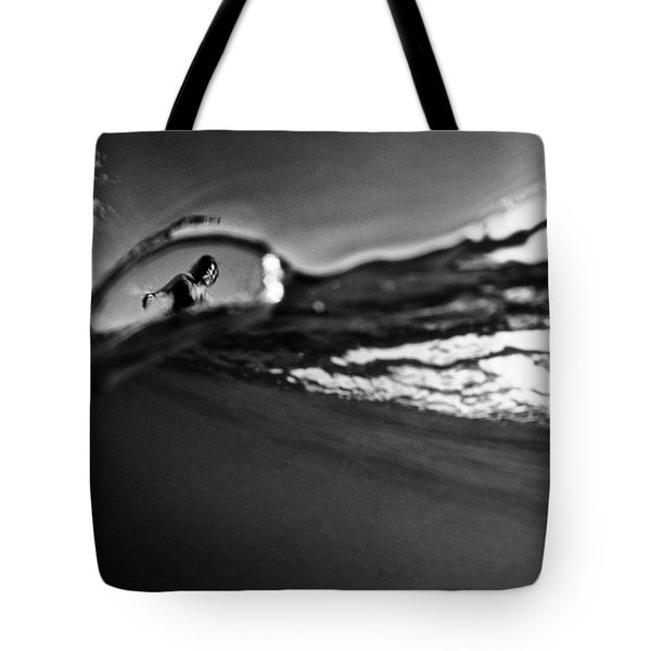Bubble Surfer Tote Bag