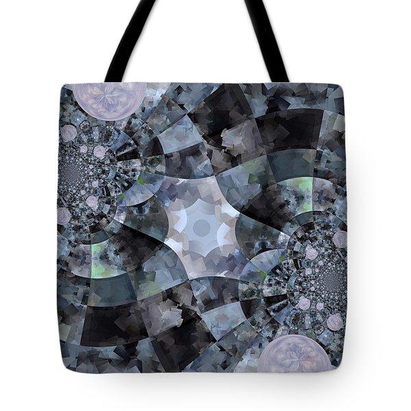 Bubble Road Tote Bag