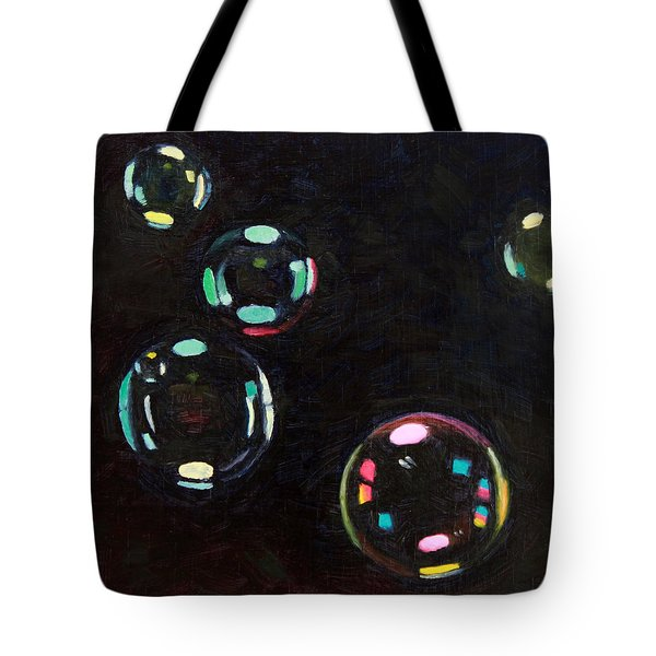 Bubble Study 01 Tote Bag by Guenevere Schwien