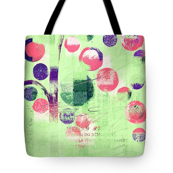 Tote Bag featuring the photograph Bubble Tree - 224c33j5r by Variance Collections