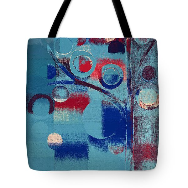 Tote Bag featuring the painting Bubble Tree - 85e-j4 by Variance Collections