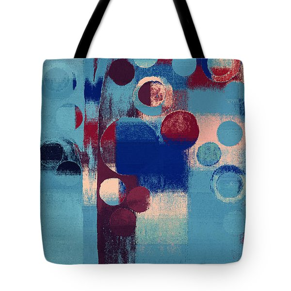 Tote Bag featuring the painting Bubble Tree - 85l-j4 by Variance Collections