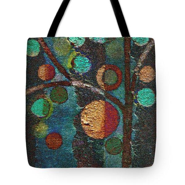Bubble Tree - Spc02bt05 - Left Tote Bag