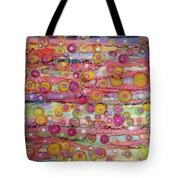 Bubble World Tote Bag