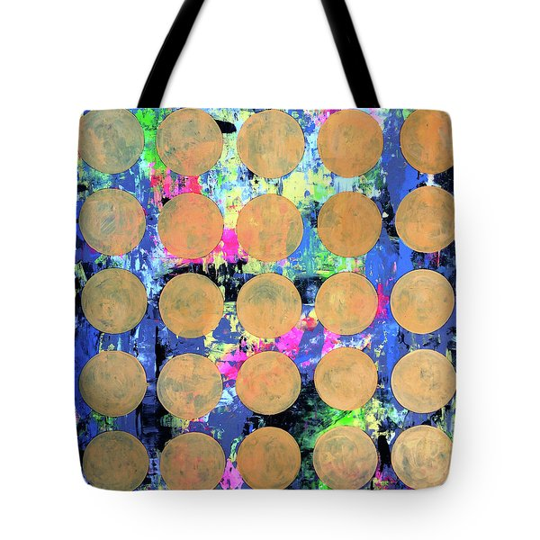 Bubble Wrap Print Poster Huge Colorful Pop Art Abstract Robert R Tote Bag