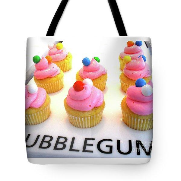 Bubblegum Cupcakes Tote Bag by Beth Saffer