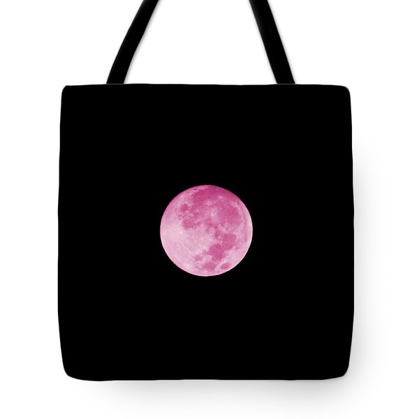 Bubblegum Moon Tote Bag